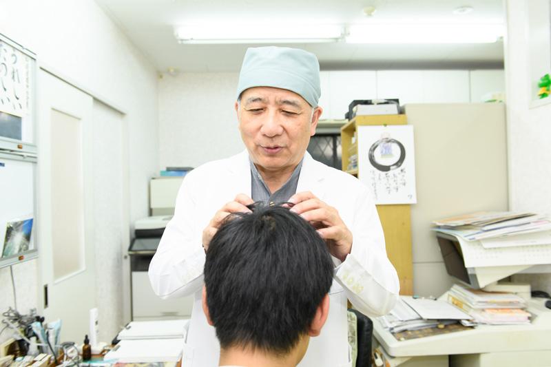 1.薄毛を改善させる自信があります